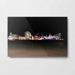 Casino Pier, Seaside Metal Print