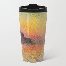 San Giorgio Maggiore by Twilight by Claude Monet Travel Mug