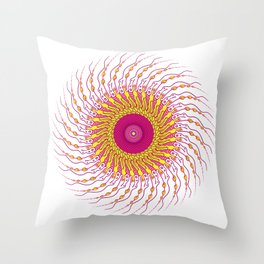 For when you enfold me in your complexities Throw Pillow