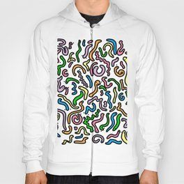 Friendly Wiggly Worms Pattern | Veronica Nagorny Hoody