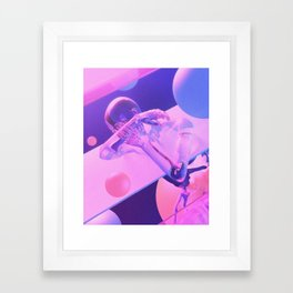 Deny Framed Art Print