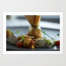 Nautilus Restaurant Dish Art Print