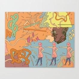 Easy Eater 2. Canvas Print
