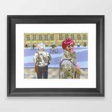 Passers (Passants) Framed Art Print