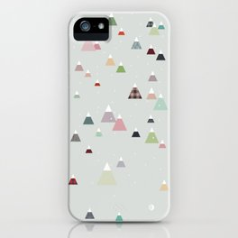 winter    in white iPhone Case
