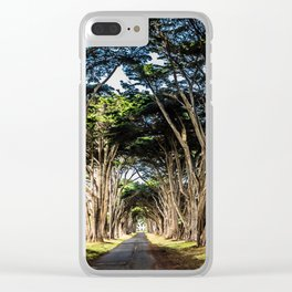 cyprss tunnel Clear iPhone Case