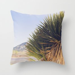 Wanderlust - The Lost Highway Throw Pillow