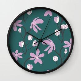 Floral Melody Wall Clock