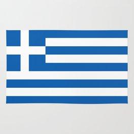 Flag of Greece, High Quality image Rug