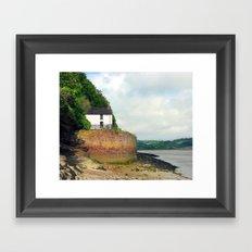 Dylan Thomas.The Boathouse. Framed Art Print