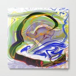 "Abstract Art ""Journey in the Mind"" inspiredbyjeneva Metal Print"