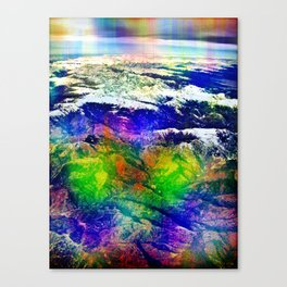 "Sunday 23 December 2012: ""...stranger than known / Sounds..."" Canvas Print"