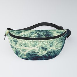 Winter ice_London Storm 6a Blue Fanny Pack