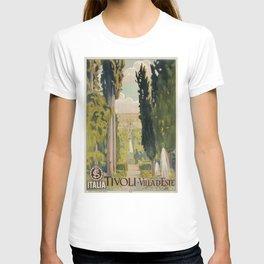 Tivoli Lazio Rome travel ad T-shirt