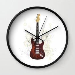 Guitar electro Wall Clock
