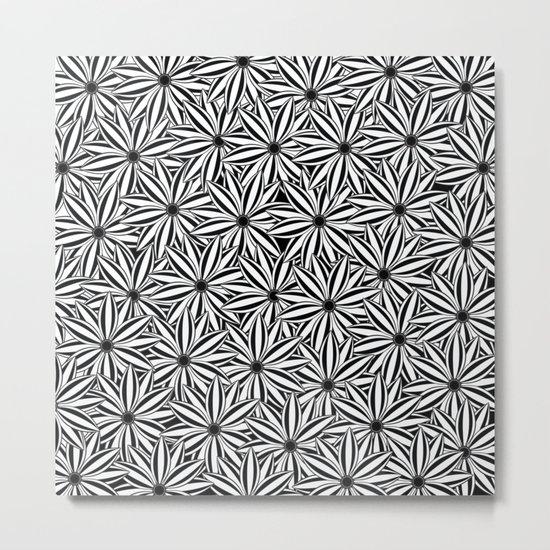 Pattern W Metal Print