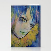indigo Stationery Cards featuring Indigo by Michael Creese