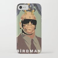 birdman iPhone & iPod Cases featuring Birdman by EZCO