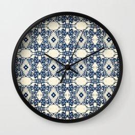 Antique Screaming Skulls Wall Clock