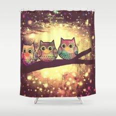 owl-444 Shower Curtain
