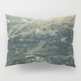 Travel photography A way to Hollywood I Pillow Sham