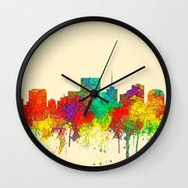 Richmond, Virginia Skyline - SG Wall Clock