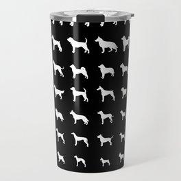 All Dogs (Black) Travel Mug