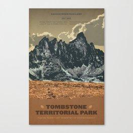 Tombstone Territorial Park Canvas Print