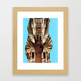 Hand Wave Framed Art Print