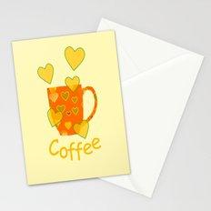 Coffee Fanatic Stationery Cards