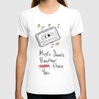cassette T-shirts featuring Cassette by Melis Kalpakçıoğlu