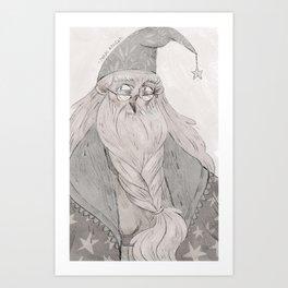 Dumbledore Art Print