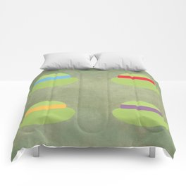 TMNT Minimalist Poster Comforters
