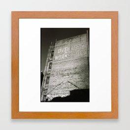 Warehouse Framed Art Print