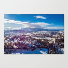 Shrouded Canvas Print