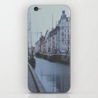copenhagen iPhone & iPod Skins featuring Copenhagen by Gabriri