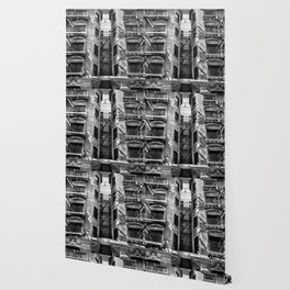 New York fire escapes Wallpaper