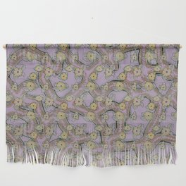 Floral Pattern 17 Wall Hanging