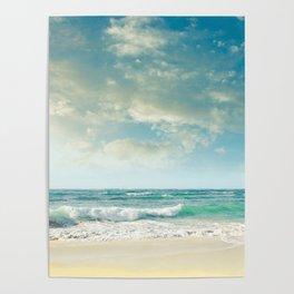 beach love tropical island paradise Poster