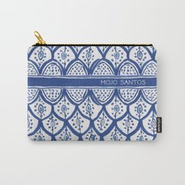 Moroccan Ceramic Tiles - Cobalt Blue Carry-All Pouch