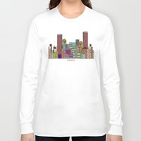miami Long Sleeve T-shirts featuring Miami by bri.buckley