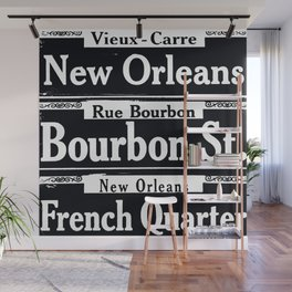 NEW ORLEANS FRENCH QUARTERS Wall Mural
