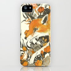 fox in foliage iPhone SE Slim Case