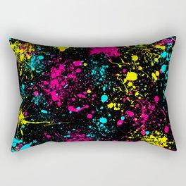 Splatter Art Rectangular Pillow