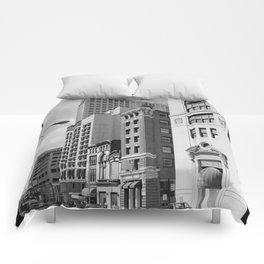 South Calvert Street, Baltimore Comforters