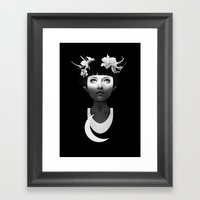 Hyperdusk Framed Art Print