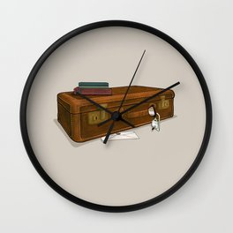 LOST Luggage / Sawyer Wall Clock