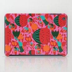 Watermelons and butterflies iPad Case