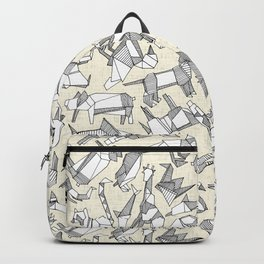 origami animal ditsy pearl Backpack