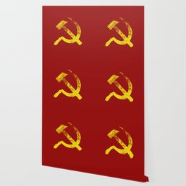 Used Communist Hammer Sickle Wallpaper